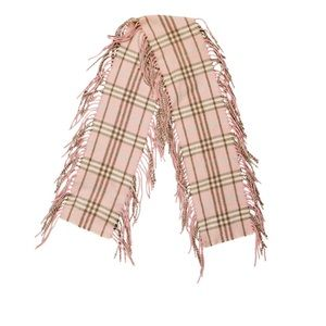 Burberry Pink Happy Cashmere Scarf